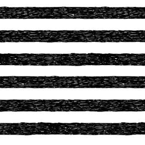 Burton's Horizontal Stripes - white