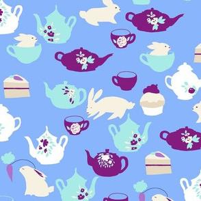 bunny's tea party