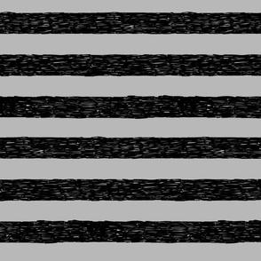 Burton's Horizontal Stripes - gray