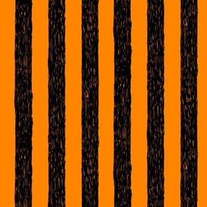 Burton's Vertical Stripes - orange