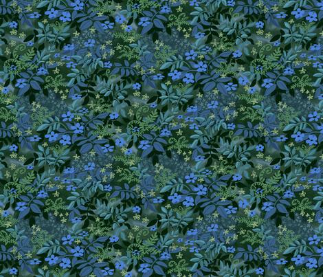 Fairy Tale Woodland 2 fabric by vinpauld on Spoonflower - custom fabric