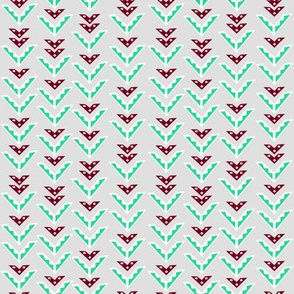 Patterned Chevrons