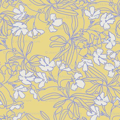 Floral Low Volume Gold