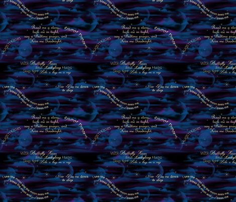 nighttime2 fabric by cindypie on Spoonflower - custom fabric