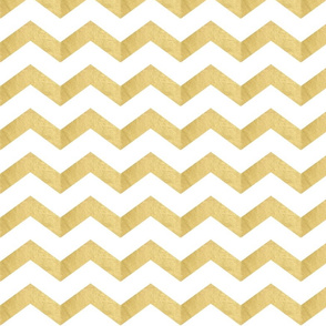 Bold Gold Chevron Large