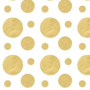 Bold Gold Bubbles