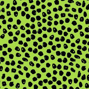 dots // dots fabric spots lime green design green fabric dots design