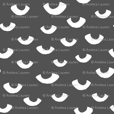eyes // charcoal and white creepy eye fabric halloween scary eyes