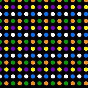 Happy Halloween Polka Dots