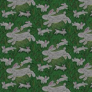 White Rabbit Mosaic