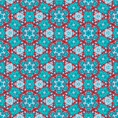 Gem Kaleidoscope #3 fabric by helenpdesigns on Spoonflower - custom fabric