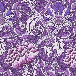 William Morris Windrush Purple