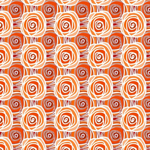 Bed of Roses - Autumn Multi Swirl