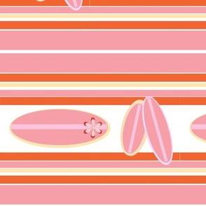 Retro Surfer Pink