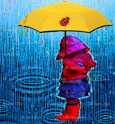 rain_puddles-WITH_YELLOW_LADYBUG_UMBRELLA