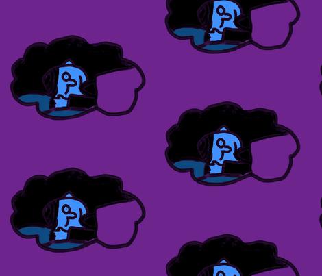 sleep fabric by irem on Spoonflower - custom fabric