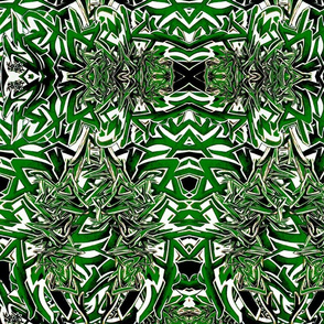 Modern Tribal Green