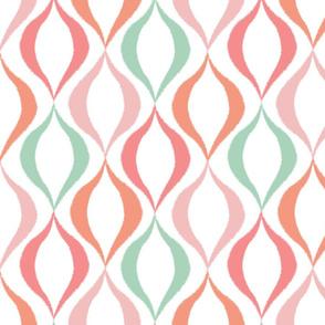 Twirl, Mint + Apricot