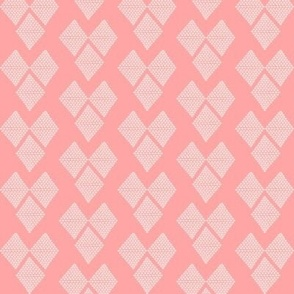 Diamond Hearts in Pink