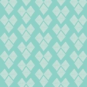 Diamond Hearts Aqua