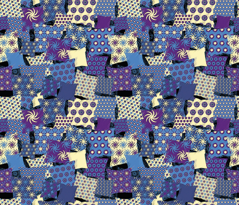 A world of Pillow fabric by cassiopee on Spoonflower - custom fabric