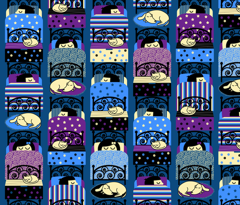 Lullaby fabric by zapi on Spoonflower - custom fabric