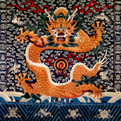 royal golden novelty thrones embroidery asian japanese china chinese oriental cheongsam kimono dragon cranes birds sea ocean imperial chinoiserie kings queens museum traditional rank regal korean kabuki geisha yuan ming qing dynasty tapestry vintage emper