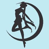 Sailor Moon Silhouette -blue--ch