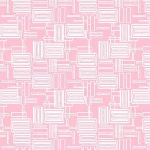 Modern Pink Lozenge coordinate