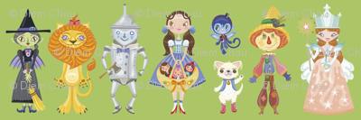 BCon 2014 Medium Characters Green