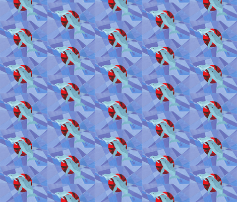 Dolphin Cove fabric by thecameronquinn on Spoonflower - custom fabric