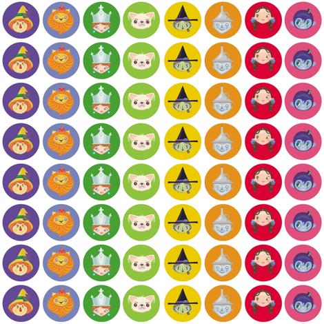 BCon 2014 Rainbow Logo Medium fabric by tinyhaus on Spoonflower - custom fabric