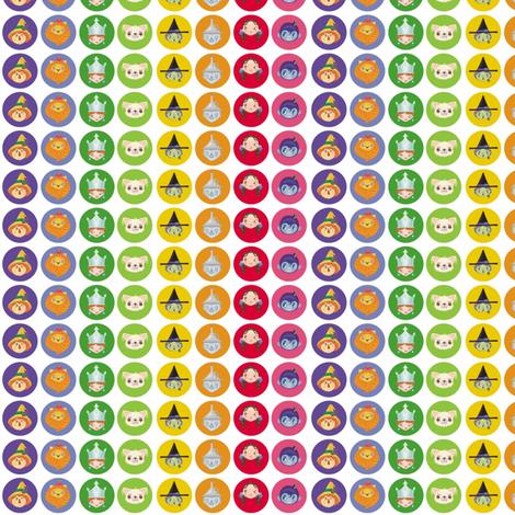 BlytheCon 2014 Rainbow Logo Small Size fabric by tinyhaus on Spoonflower - custom fabric