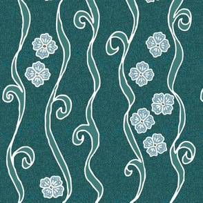 empire-stripe-w-flwrs-field6-stretched-crop-8x12-VECTOR-whtlns-grn-TEXTURE-DKGRN-BL150