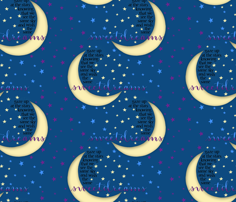 Sweet_Dreams fabric by j9design on Spoonflower - custom fabric