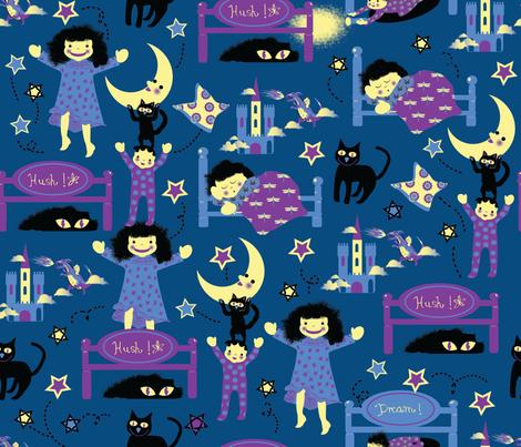 jolly_night-01 fabric by maribel on Spoonflower - custom fabric