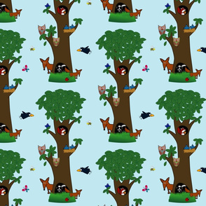 WoodlandCritterTree