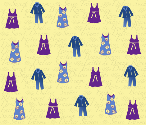 dreams fabric by car6410 on Spoonflower - custom fabric