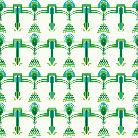 royal palm fabric by mcclept on Spoonflower - custom fabric