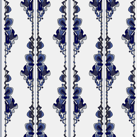 pole wings fabric by mcclept on Spoonflower - custom fabric