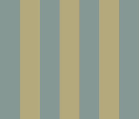Khaki and Blue stripe fabric by sydneyapril2004@yahoo_com on Spoonflower - custom fabric