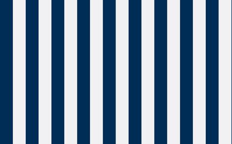 Navy Blue white stripe fabric by sydneyapril2004@yahoo_com on Spoonflower - custom fabric