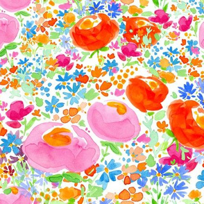 Fiori Di Campo ~ Red & Pink Roses | alexcolombo.com