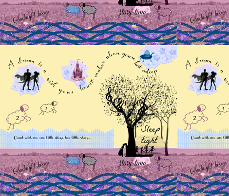 Dreamtime fabric by graphfric on Spoonflower - custom fabric