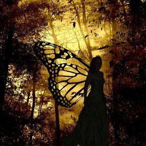 Fairy_in_ballgown_silhouette