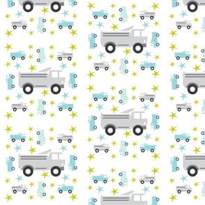 Truck star-gray