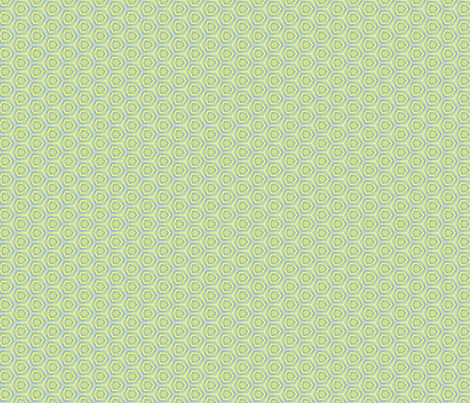Sketched Geometric Hexagon Pattern fabric by boundingsquirrel on Spoonflower - custom fabric