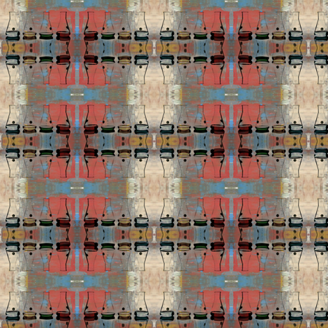 Beakers of Science fabric by ginascustomcreations on Spoonflower - custom fabric