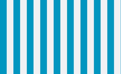 Ocean Blue and White Stripe fabric by sydneyapril2004@yahoo_com on Spoonflower - custom fabric