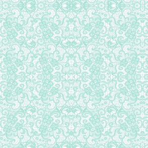 Aqua lace
